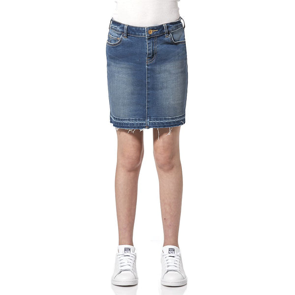 Riders By Lee Denim Mini High Tide Skirt R_580017_W66