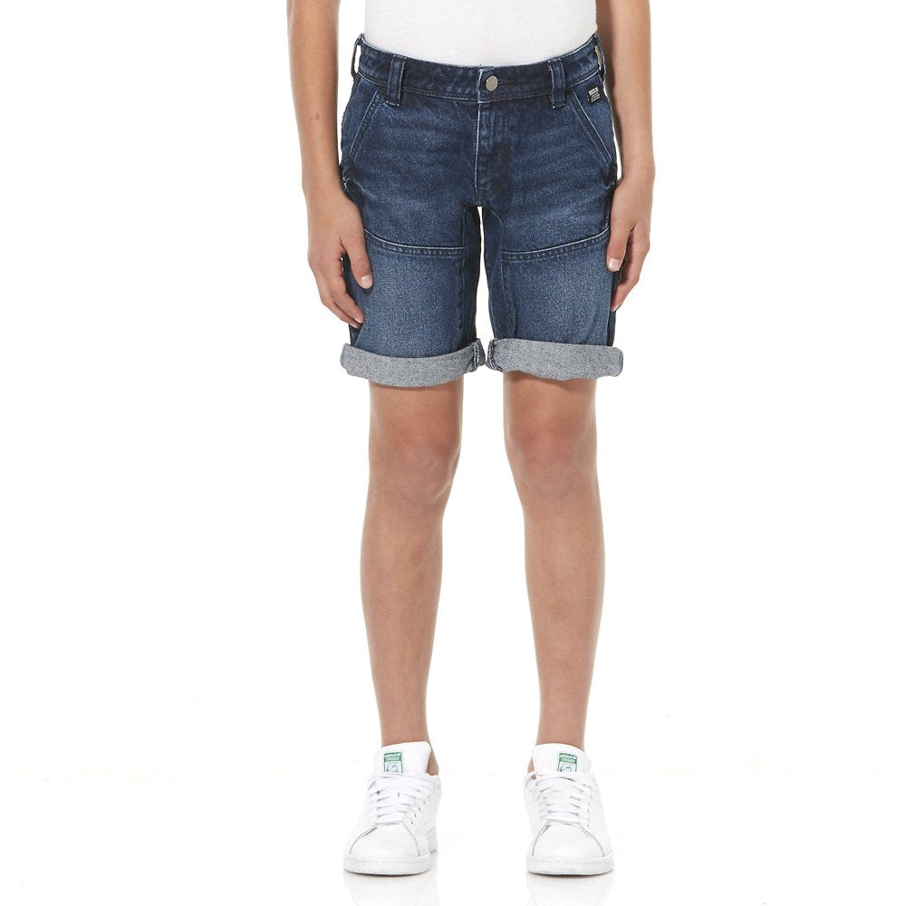 2351df3504 Riders By Lee Junior 8-16 YRS Kick Back Shorts Brushed Indigo R530030C24  Famous Rock ...