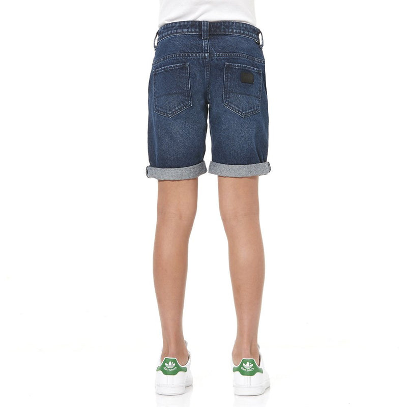 Riders By Lee Junior 8-16 YRS Kick Back Shorts Brushed Indigo R530030C24 Famous Rock Shop Newcastle, 2300 NSW. Australia.