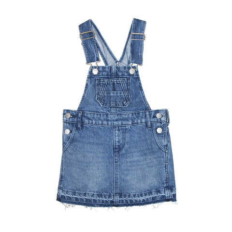 Riders By Lee Junior Girls 3-7 YRS Dungaree Dress Sunbleach R590010104 Famous Rock Shop Newcastle, 2300 NSW. Australia.