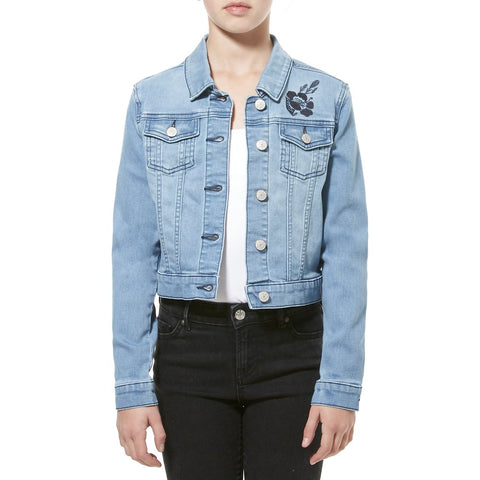 Riders By Lee Junior Girls 8-16 YRS Classic Jacket Lucky Blue R/580064/EO2 Famous Rock Shop. 517 Hunter Street Newcastle, 2300 NSW. Australia.