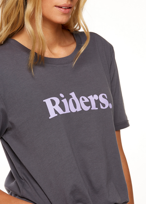Riders By Lee Monterey Relaxed Tee Washed Grey R551504AG3 Famous Rock Shop Newcastle, 2300 NSW. Australia. 4