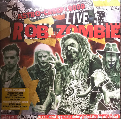 Rob Zombie Astro Creep 2000 Live Song Of Love Destruction And Other Synthetic Delusions Of The Electric Head LP Vinyl     Famous Rock Shop Newcastle 2300 NSW Australia