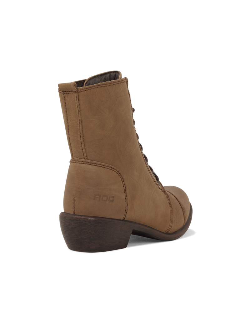 Roc Territory Brown Oily Boots