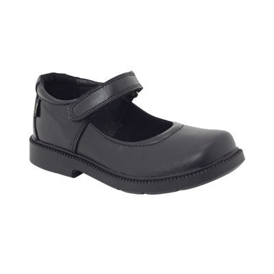 Roc Boots Juicy Black Leather Kids Shoe