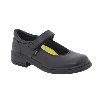 Roc Boots Lark Black Leather Kids Shoe