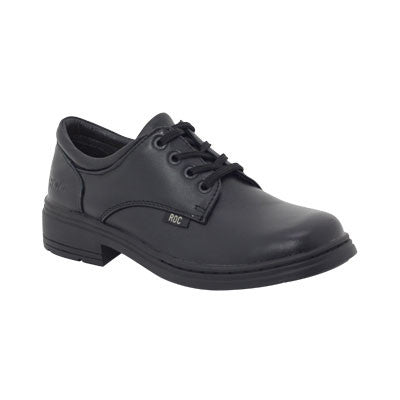 Roc Boots Larrikin Black Leather Shoes