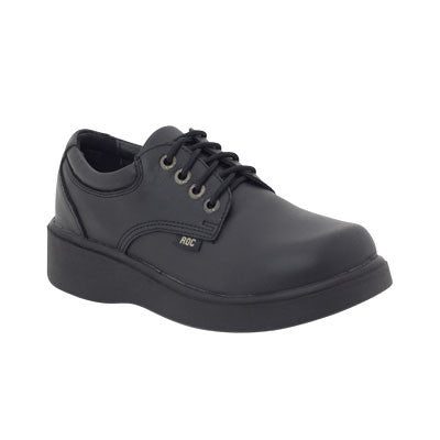 Roc Boots Scary Black Leather Shoe