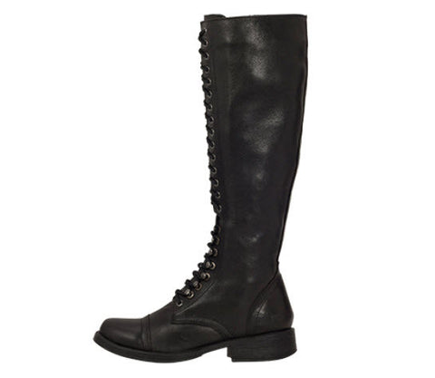 Roc Boots Fleet Black Leather Boots