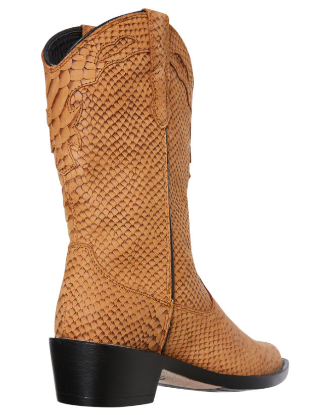 Roc Boots INDIO Tan Cobra Boot Famous Rock Shop Newcastle, 2300 NSW. Australia. 5