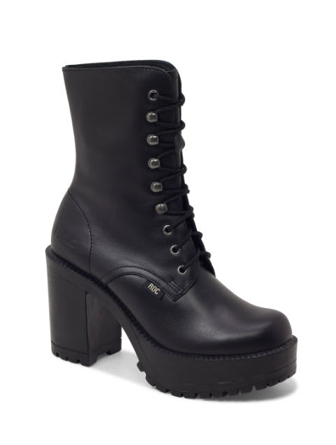 Roc Boots LUSH Black Boot Famous Rock Shop Newcastle, 2300 NSW. Australia. 2