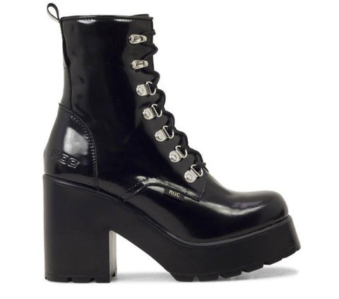 Roc Boots Mission Hi Shine Black  Famous Rock Shop Newcastle, 2300 NSW. Australia. 1