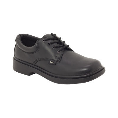 Roc Boots Stand Black Leather Shoe