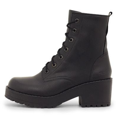 Roc Chisel Black Leather Boots