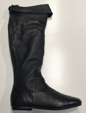 ROC Gush Black Leather Boot