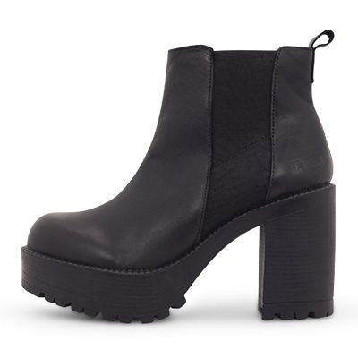 Roc Pascal Black Leather Boots