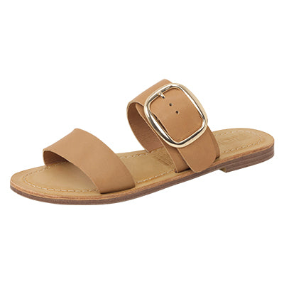 Roc Boots Ringo Tan Leather Sandals