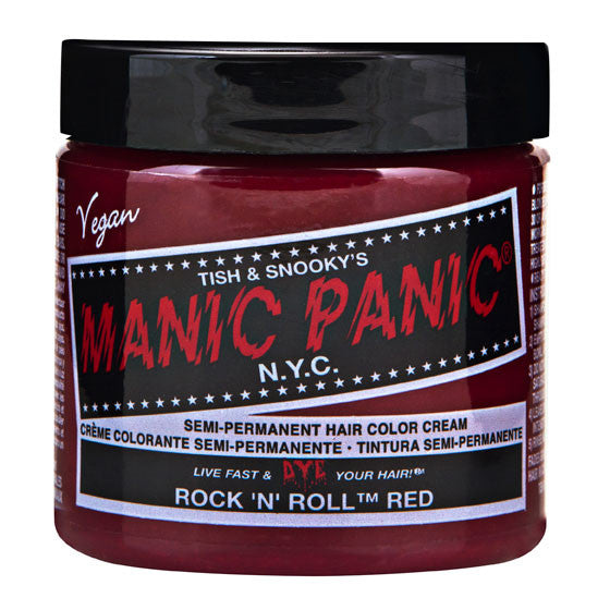 Manic Panic Semi-Perm Hair Color Classic Creme - Rock 'n' Roll Red