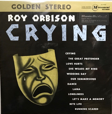 Roy Orbison - Crying Vinyl