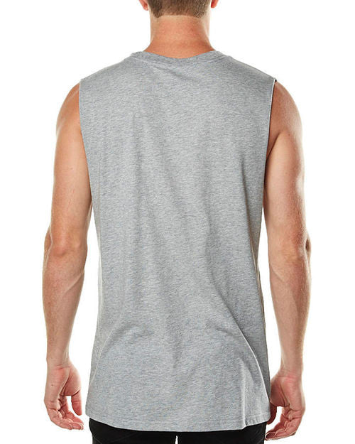 Santa Cruz Big Dot Muscle Tee Grey Heather W15SCT1151