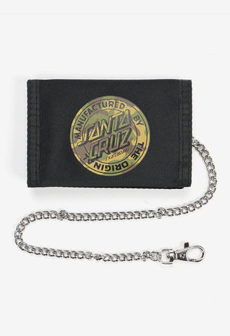 Santa Cruz Camo MFG Dot Velcro Wallet SC-MAA0592 Famous Rock Shop Newcastle, 2300 NSW. Australia. 1