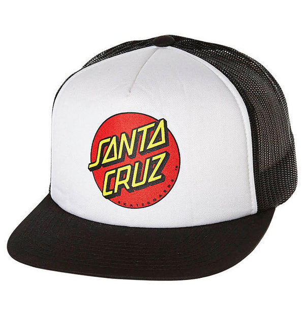 Santa Cruz Classic Dot Trucker Hat SC-MCNC134 Famous Rock Shop Newcastle 2300 NSW Australia