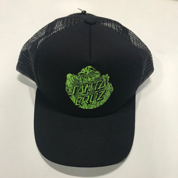 Santa Cruz Conjurer Trucker Youth Black SC-YCD8152 Famous Rock Shop Newcastle 2300 NSW Australia