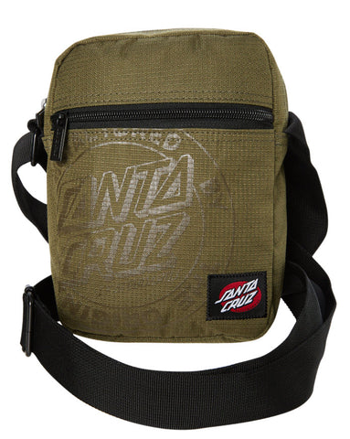 Santa Cruz Cruz Shoulder Bag Moss SC-MAC9306 Famous Rock Shop Newcastle NSW Australia. 1