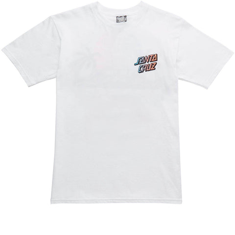 Santa Cruz Men's White A Frame 2 Tee SC-MTD6320 Famous Rock Shop Newcastle 2300 NSW Australia