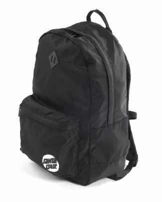 Santa Cruz Missing Dot Backpack Black SC-MAD8054 Famous Rock Shop Newcastle 2300 NSW Australia