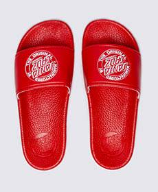 Santa Cruz OG Dot Youth Slide Red SC-YYC8164 Famous Rock Shop Newcastle, 2300 NSW. Australia. 1