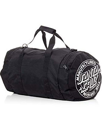 Santa Cruz Original Dot Duffle Bag Black SC-MAC7633 Famous Rock Shop Newcastle, 2300 NSW. Australia. 1