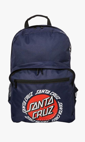 Santa Cruz Ringed Dot Back Pack Navy SC-MAA8844 Famous Rock Shop Newcastle 2300 NSW Australia