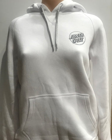 Santa Cruz Roses Pop Hood White SC-WFA7247 Famous Rock Shop Newcastle 2300 NSW Australia