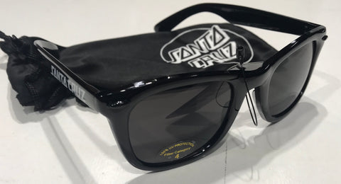 Santa Cruz Strip Shades Black SC-MAA6138 Famous Rock Shop Newcastle 2300 NSW Australia