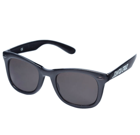 Santa Cruz Strip Shades Sunglasses Black SC-MAA6138. Famous Rock Shop Newcastle, 2300 NSW Australia.