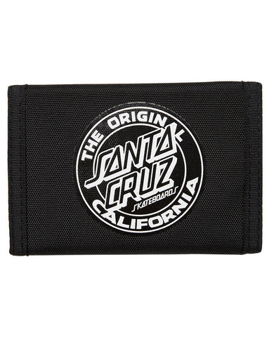Santa Cruz Velcro Wallet Black SC-MAD7740