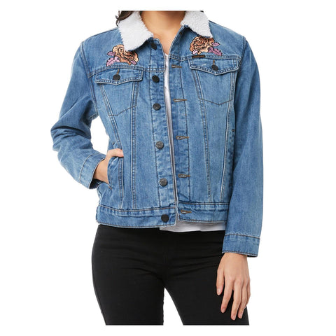 Santa Cruz Victorian Denim Jacket Lightnd SC-WJA8544 Famous Rock Shop Newcastle 2300 NSW Australia