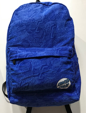 Santa Cruz on repeat Backpack powder blue sc yad7063 Famous Rock Shop Newcastle 2300 NSW Australia