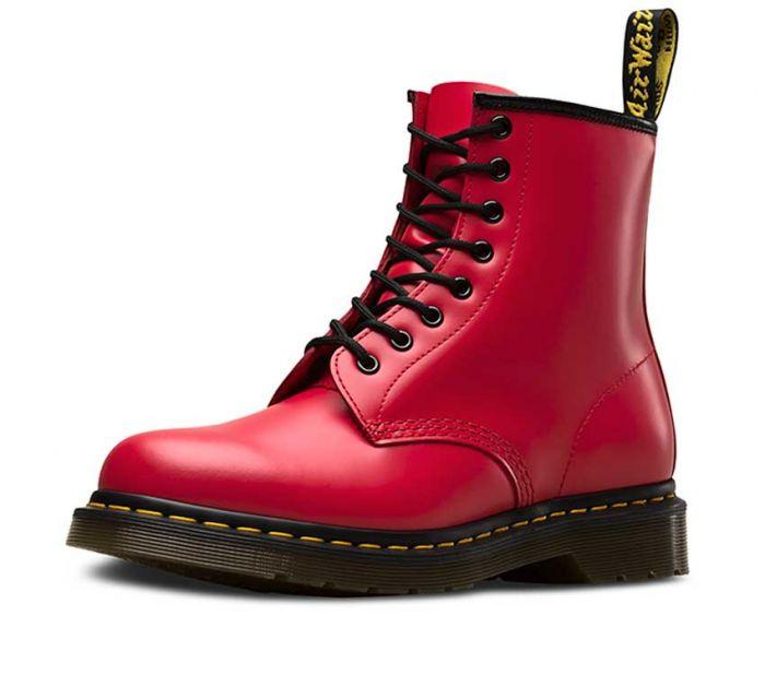Dr Martens 1460 8 Eye Boot Satchel Red Smooth 24614636 Famous Rock Shop Newcastle 2300 NSW Australia4