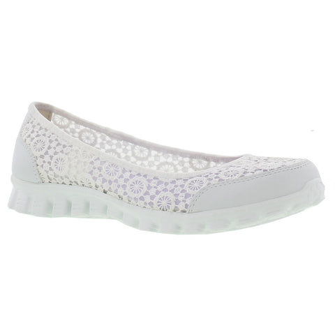 Skechers EZ FLEX 2 Flighty White Memory Foam 22836