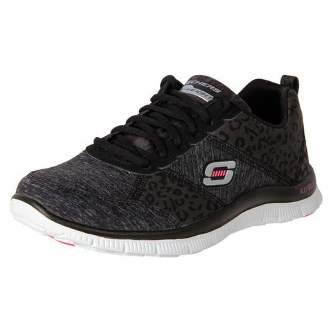 Skechers Flex Appeal Tribeca Black White Memory Foam Famous Rock Shop. 517 Hunter Street Newcastle, 2300 NSW Australia