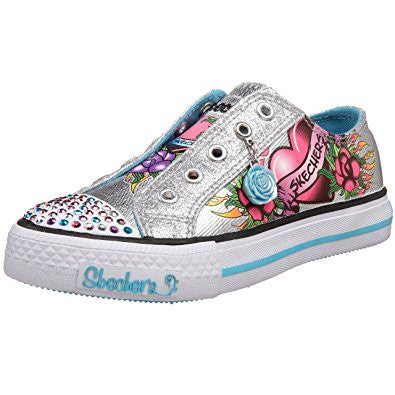 Skechers Twinkle Toes Glitterazzi Silver  Famous Rock Shop 517 Hunter Street Newcastle 2300 NSW Australia
