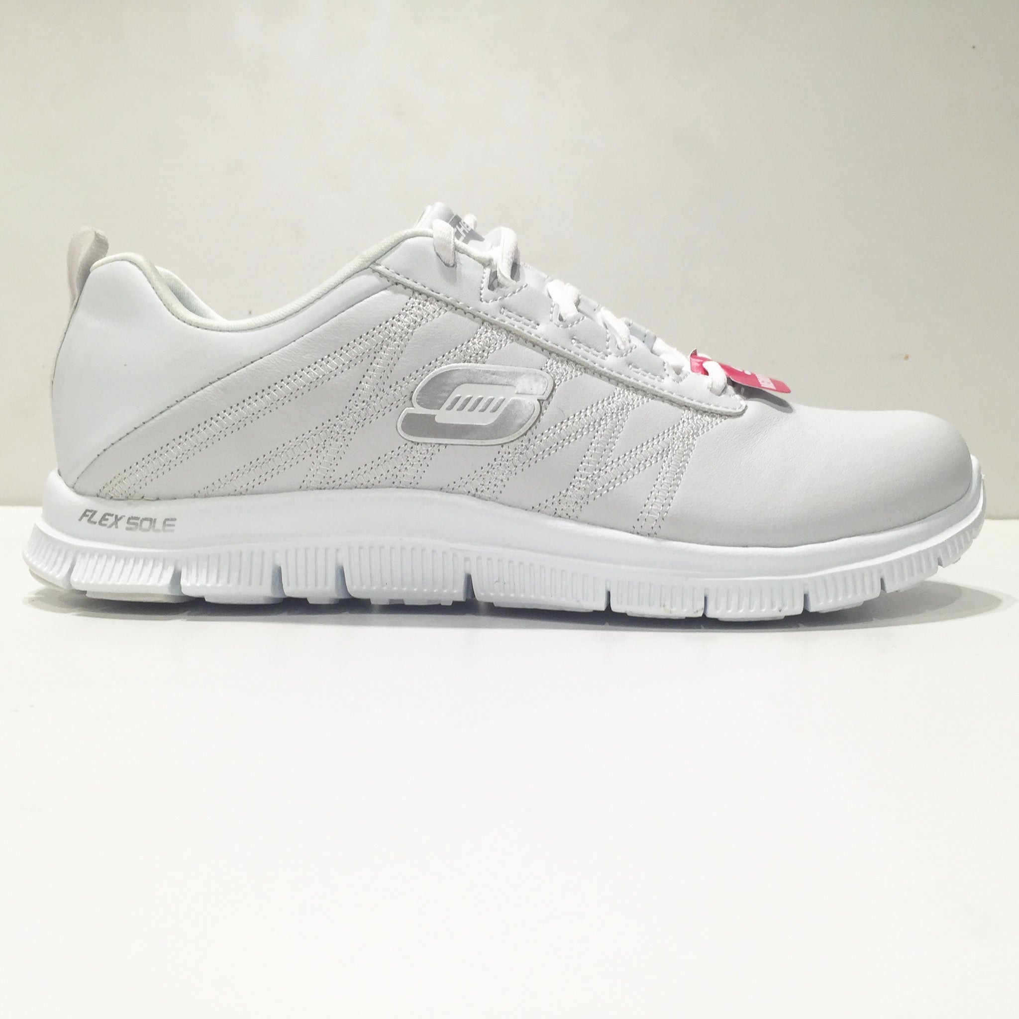 Skechers Memory Foam Pure Tone White