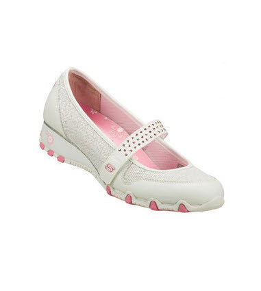 Skechers Pretty Tall - Sparkle Babies White Pink  Famous Rock Shop 517 Hunter Street Newcastle 2300 NSW Australia