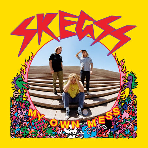 Skegss My Own Mess Yellow Coloured Vinyl RATBAG14SK Famous Rock Shop Newcastle 2300 NSW Australia