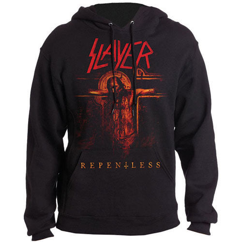 Slayer Pullover Hoodie Repentless Crucifix Famous Rock Shop Newcastle 2300 NSW Australia