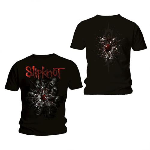 Slipknot Shattered Men's Black T-Shirt Famous Rock Shop Newcastle 2300 NSW Australia