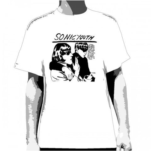Sonic Youth Goo White T-Shirt
