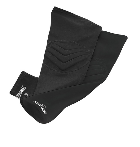 Spalding Padded Shooting Sleeve - Adult Black SLBK51L    Sport Star Pro Famous Rock Shop Newcastle 2300 NSW Australia
